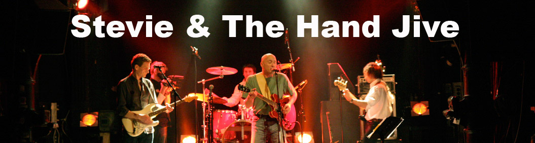 Header Stevie and the Hand Jive